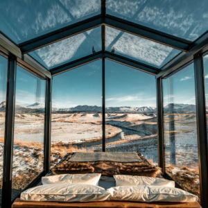 Photograph of the week: A room with a view in Iceland