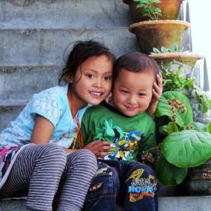 bhutan-smiling kids