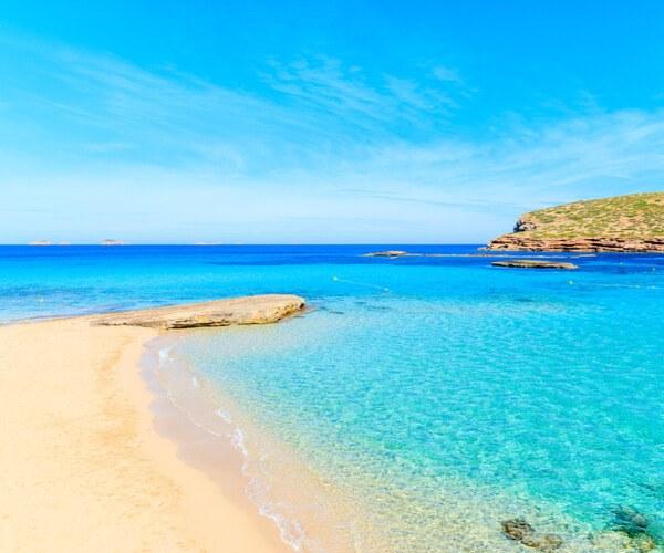 Cala Comte in Ibiza