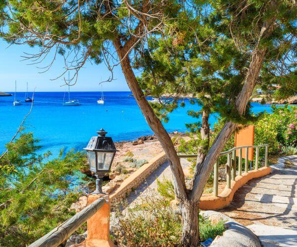 Cala Portinatx in Ibiza