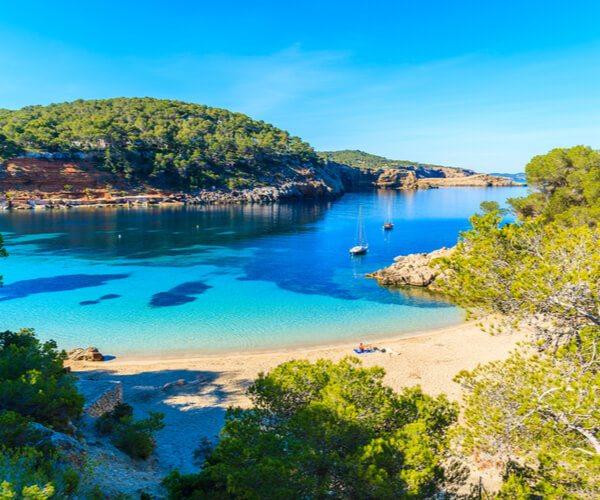 Cala Salada in Ibiza