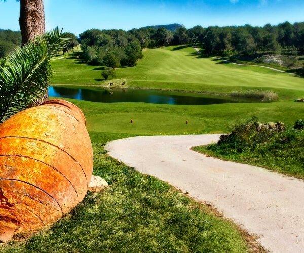Golf Ibiza on the island of Ibiza