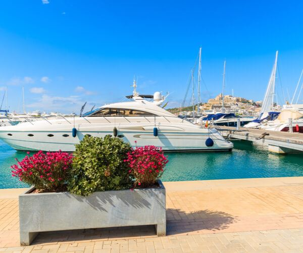 Ibiza Port in Ibiza