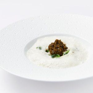 Recipe of the week: Squid with Champagne sauce and caviar