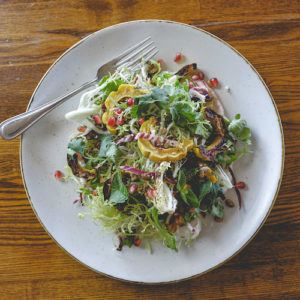 Recipe of the week: Pomegranate and roasted delicata squash salad