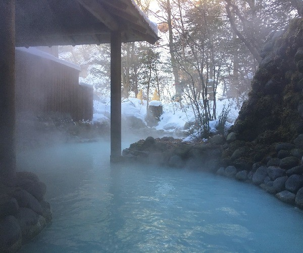 japan hot spring