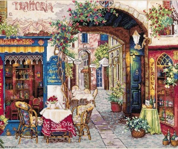 Travel related craft - Verona Cross Stitch