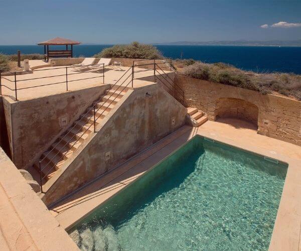 Cap Rocat Hotel, Suite El Cabo
