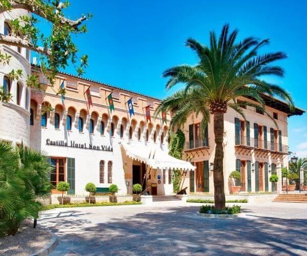 Castillo Hotel Son Vida in Mallorca