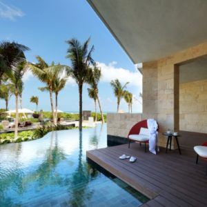 Suite of the week: Ambassador Suite Swim Up, TRS Coral Hotel, Costa Mujeres, Mexico