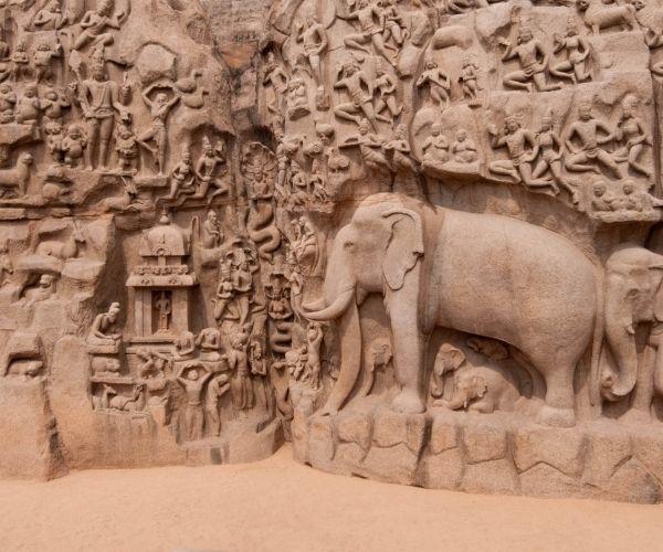 South India Tours_Mahabalipuram