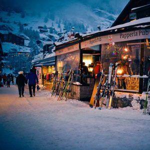 The best aprés ski in Zermatt