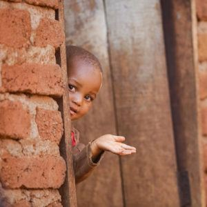 Photograph of the week: Doorway to a primary school in a rural village in Tanzania