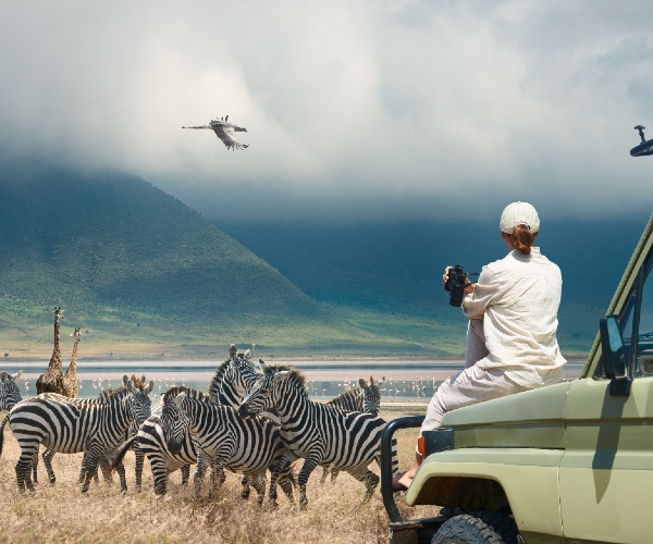 Luxury volunteer vacation Tanzania