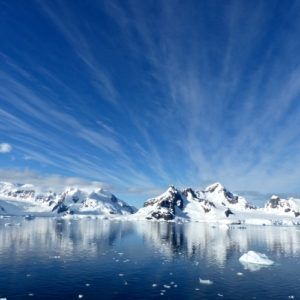 Natural wonder in Antarctica