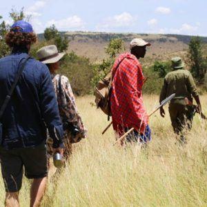 The magic of a guided bush walk in Kenya's Maasai Mara