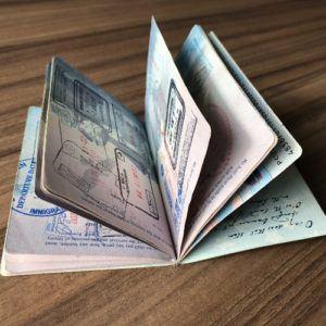 A passport's life