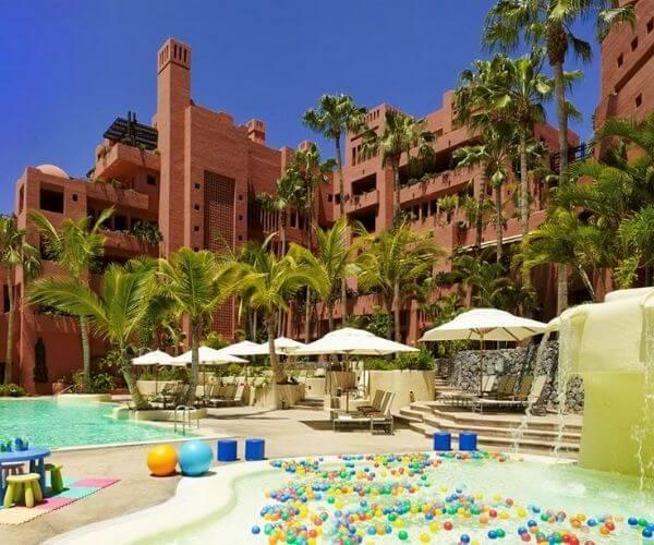 Ritz Carlton Abama in Tenerife
