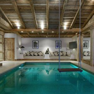 The most luxurious rental ski chalets in Courchevel, France