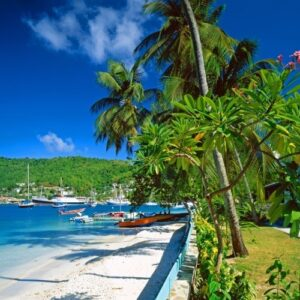 Island-hopping in St Vincent and the Grenadines