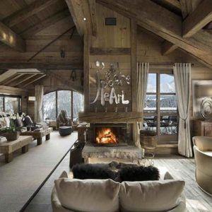 Wow! A £25 million luxury ski chalet for £700 per night!