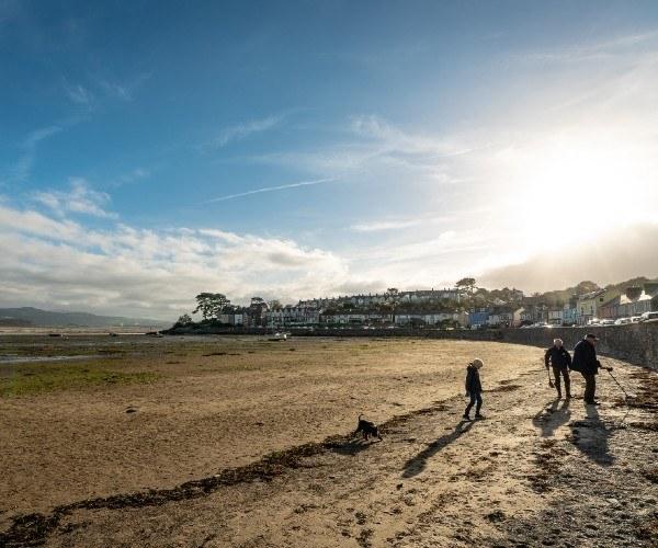 Borth-y-Gest in Llyn Peninsula, North Wales
