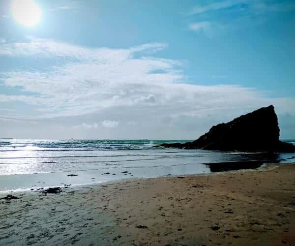 Broad Haven North Pembrokeshire for Wild Swimming