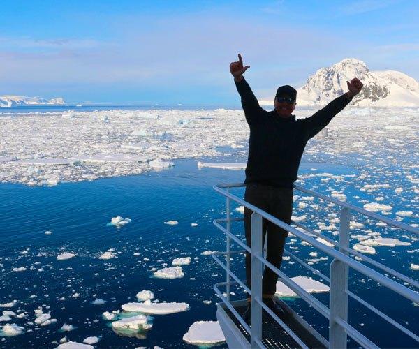 Untamed Traveller Jozef, Antarctica