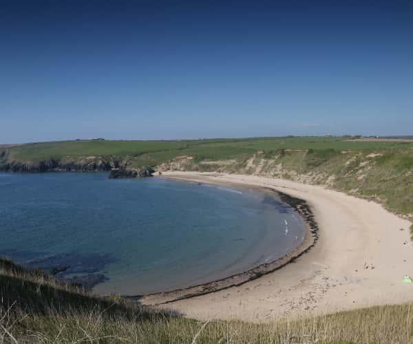 Whistling Sands (Porth Oer) in Llyn Peninsula