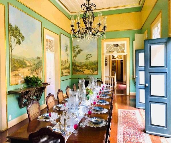 Fazenda fancy house