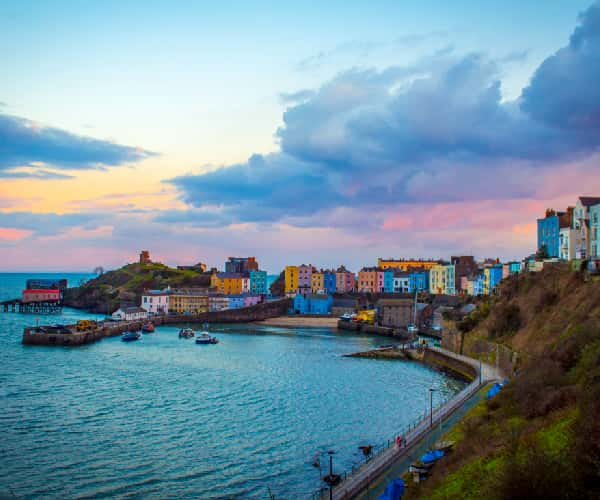 Tenby harbour, the jewel in the crown of the Welsh Riviera