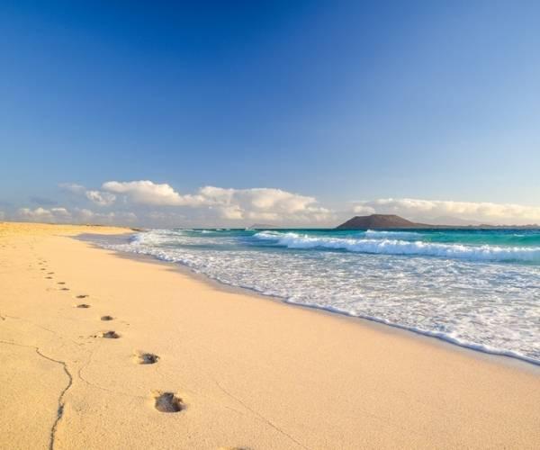 Corralejo Beach in Fuerteventura