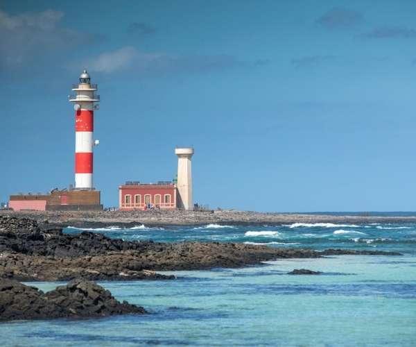 Toston Lighthouse in Fuerteventura
