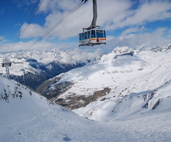 Andermatt Ski Slope