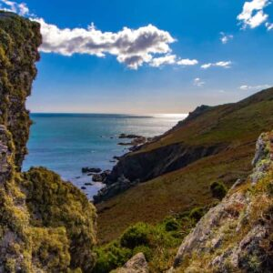 Start Point on the Devon coastline