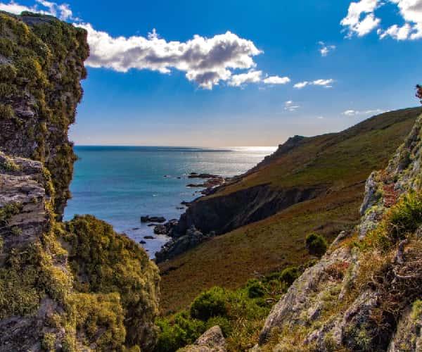 Start Point on the Devon coastline