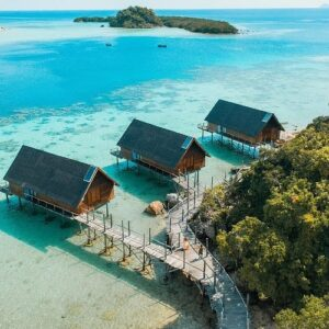 Bawah Resort in Indonesia