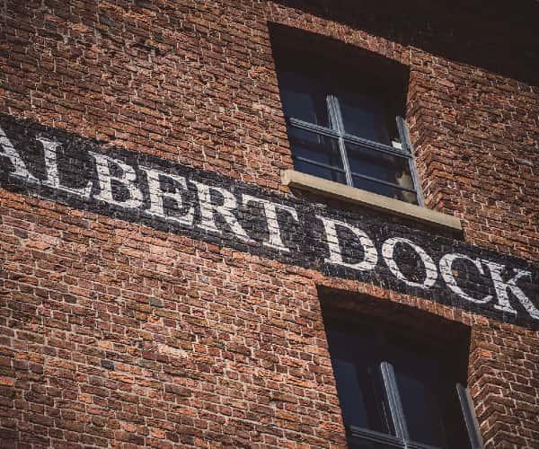 Liverpool's famous Albert Docks