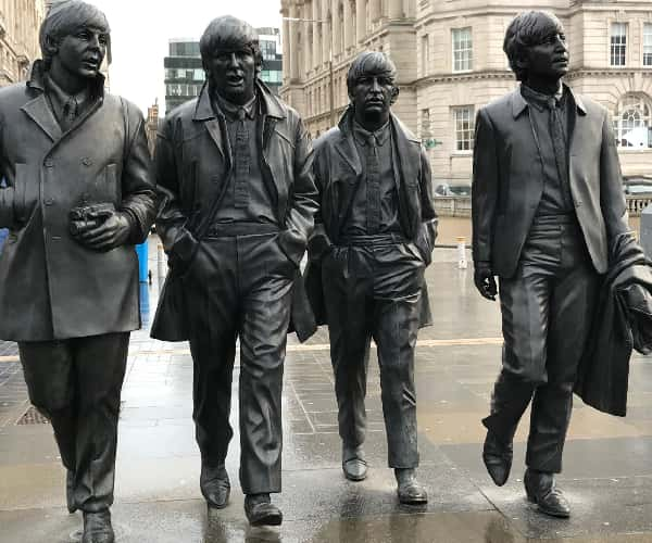 Liverpool was famous for the home of the Beatles and the birthplace of the Fab Four