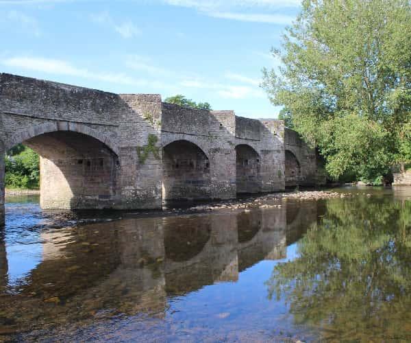 The bridge in Crickhowell