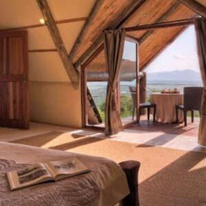 Escaping to a luxury safari home in Kenya