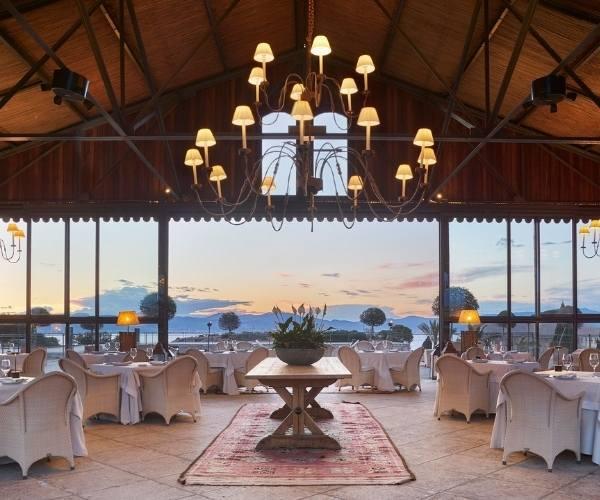 Fortaleza Restaurant, Cap Rocat Hotel