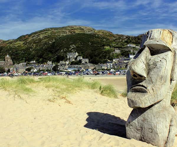 North Wales has many blug flag status beaches
