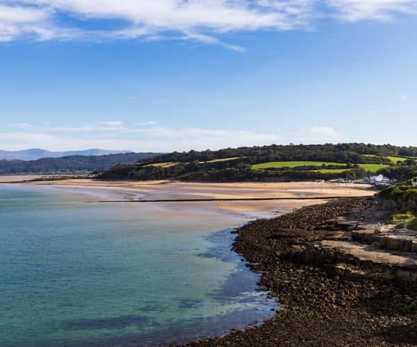 Benllech beach on Ynys Mon, North Wales