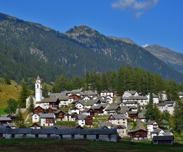 Bosco Gurin Village