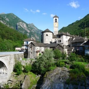 Lavertezzo Village