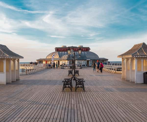 Cromer Pier, a historic part of the English seaside