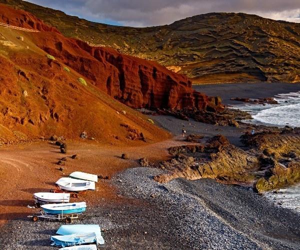 Playa de El Golfo Lanzarote