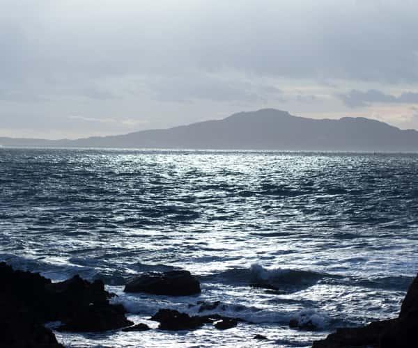 Porth Swtan in North Wales is a blug flag beach