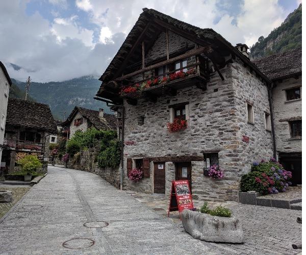 Sonogno Village